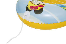 """<b>Bestway Надувная</b> лодочка 102х69см """"<b>Mickey</b> Mouse"""" с окошком ..."""