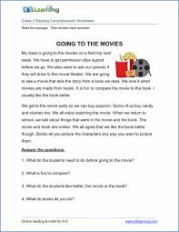 Free printable second grade reading comprehension worksheets | K5 ...2nd grade reading comprehension worksheet