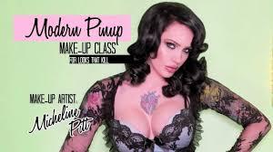 modern pinup make up cl promo