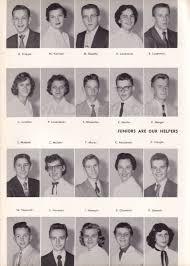 index of 1956yearbook pa duryea 1956 meecha woming high school yearbook pg 58 juniors krappa to osowski jpg