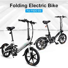 Prom-note <b>FIIDO D3s Folding Electric Bicycle</b> 250W Brushless ...