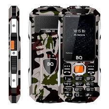 Мобильный <b>телефон BQ 2432</b> Tank SE Military Green — купить в ...