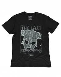 <b>Skyrim</b> Last Dragonborn <b>T</b>-<b>Shirt</b> - L - Heroes