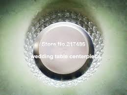 charger plates decorative: decorative charger plates free shipping  pcs one lot crystal chareger font b plate b font font b