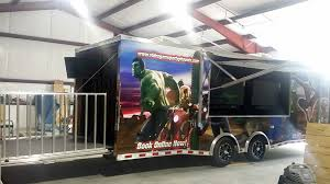 home buy a video game truck work from home based business back stage a 40 tv wii u a 10 x 16 awning and vinyl strips on the rear to keep the a c in