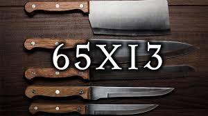 #матчасть 2. <b>Нож</b> из стали <b>65х13</b> - YouTube
