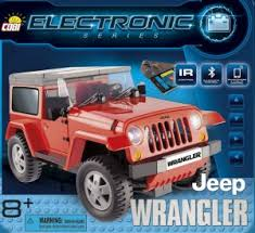 Радиоуправляемый пластиковый <b>конструктор COBI</b> «<b>Jeep Wrangler</b>