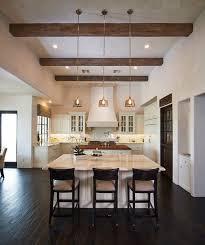 mediterranean kitchen ideas stylish decor ceiling beams pendant lighting fixtures beams lighting