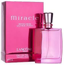 <b>Miracle Ultra Pink</b> by <b>Lancome</b> – Luxury Perfumes Inc