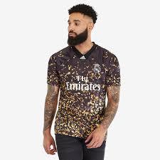 adidas <b>Real Madrid</b> 2019/20 EA Sports 4th Shirt - <b>Black/White</b> ...