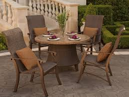 Stone Dining Room Table Stone Patio Dining Table Set Woven Outdoor Furniture Singapore
