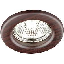 <b>Встраиваемый светильник Novotech</b> Wood 369715 купить ...