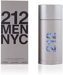 <b>Carolina Herrera 212</b> NYC Homme Eau De Toilette Spray 100ml ...
