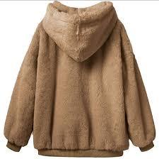 YONGM Womens Hooded Sweatshirt <b>Coat Winter Warm Cotton</b> ...