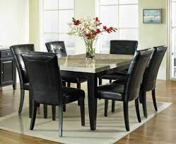 Black Dining Room Chairs Stylish Oak Dining Table And Chairs For Dining Room Design Ideas