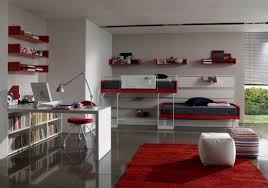 bedroom office decorating ideas 550x387 how to create the bedroom office design bedroom office design