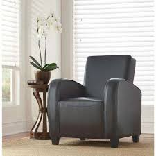 classic bonded leather club chair amazing home depot office chairs 4 modern