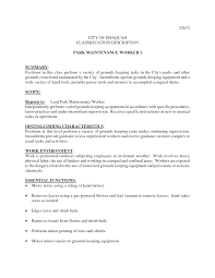 job description example gardener sample customer service resume job description example gardener job description for forklift operator example of forklift cv gardener gardener cover