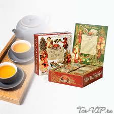<b>Чай ассорти Basilur</b> Винтаж 40 пакетиков | купить с доставкой