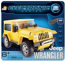 Электромеханический <b>конструктор Cobi</b> Electronic 21921 Джип ...