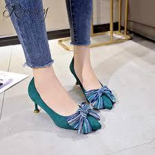 Rimocy <b>sexy</b> ladies pointed toe <b>leopard pumps</b> 2019 spring feshion ...