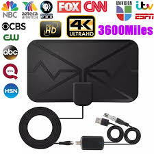 Original <b>4K</b> HD Digital TV Antenna <b>3600 Miles</b> Range Signal ...