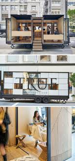 top 25 ideas about food truck interior food truck mobile office architects and spiegel aihara workshop collaborated to design and develop a mobile retail store for online clothing brand true co mais