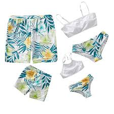 Kehen Daddy Mommy and Me <b>Family</b> Matching <b>Swimsuit</b> Parent ...