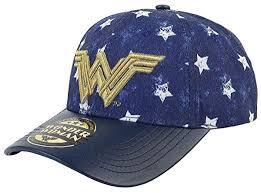 <b>Wonder</b> Woman <b>Cheer Leader</b> Baseball Cap Blue: Amazon.co.uk ...