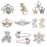 Discount Rhinestone <b>Crown Fashion</b> Pins