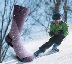 long ski socks winter snowboard sport thick warm cycling soccer moisture absorption high elastic women men kids
