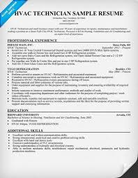HVAC Technician Resume Sample    gt  Join         people and create perfect resume in Pinterest