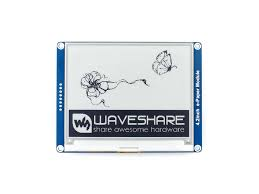 Waveshare 4.2''e paper, <b>400x300</b>,<b>4.2inch E Ink display</b> module ...