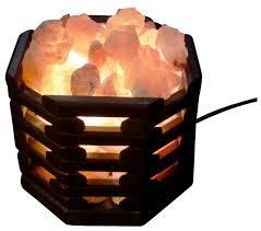 <b>Солевая лампа Wonder</b> Life Октагон темный — купить по ...