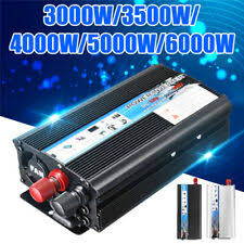 <b>5000W</b> or more Car Pure Sine Inverters for sale | eBay