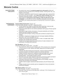 Sales Manager Resume Templates Sales Manager Resume Account