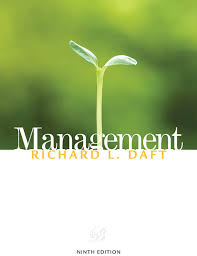 Management (Daft), 9th ed.