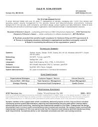doc linux system administrator resume format cognos system administrator resume