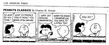 the empath s guide the most difficult capacity to master brings peanuts cartoon about listening