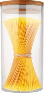 <b>Банка</b> для сыпучих <b>продуктов Mallony</b> Bambu, 4449, с крышкой, 1 л
