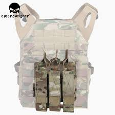 <b>Emerson Airsoft Hunting Tactical</b> Modular MOLLE Triple Open Top ...