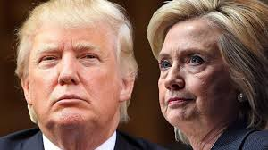 Image result for donald trump and hillary clinton pictures
