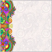 paisley design on decorative floral background for invitation vector paisley design on decorative floral background for invitation packing paper book cover web page decoration and other vector illustration