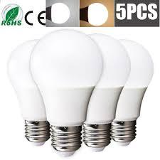 5pcs Led Bulbs E27/<b>E14</b> 220V Real Watt 9-18W High <b>Bright Energy</b> ...