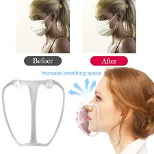 <b>5pcs 3D Mask Bracket</b> Mask Accessories Breathing Smoothly Cool ...