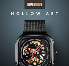 <b>SKMEI</b> 9184 Fashion <b>Automatic Mechanical Men</b> Watches Vintage ...