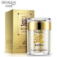 <b>BIOAQUA</b> Silk <b>Protein</b> Deep <b>Moisturizer</b> Day <b>Cream</b> Skin Care Anti ...