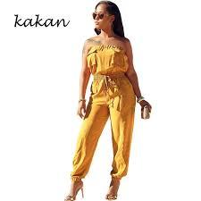 <b>Kakan 2019 summer new</b> women's body tights two piece fashion ...