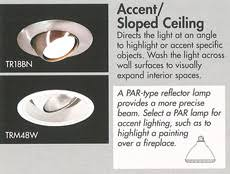 recessed lighting ceiling light sloped lighting