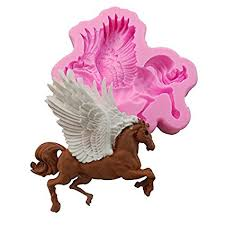 3D Pegasus Fondant Cake Decor Soft Silicone ... - Amazon.com